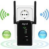 Aigital WLAN Router, 300Mbit/s WLAN Repeater Verstaerker Range Extender Wi-Fi Signal-verstärker...