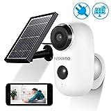 AKKU Überwachungskamera mit Solarpanel Kabellos WiFi Kamera wasserdicht intelligente IP Kamera...